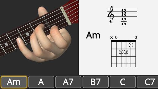 Basic Guitar Chords 3D screenshot 2