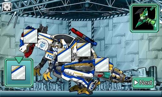 Repair! Dino Robot-T-rex cops APK for Lenovo