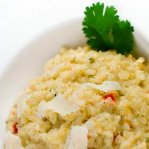 Sprouted Brown Rice Vegetable Risotto
