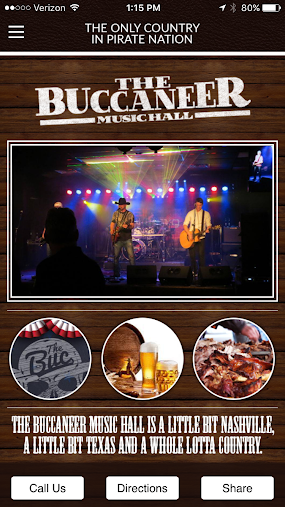 The Buccaneer Music Hall APK