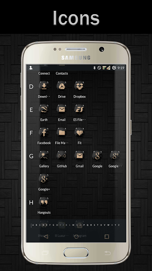 Black Gold CM12 CM13 Screenshot 1