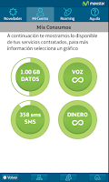Screenshot of Mi Movistar CA