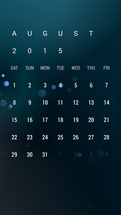 Calendar Widget: Month Screenshot 4