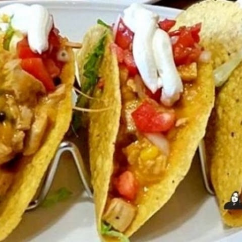 Apple Cider Vinegar Braised Chicken Tacos
