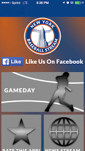 New York Baseball STREAM NYM+ - screenshot