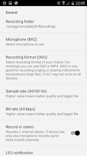 Voice & Audio Recorder - ASR- screenshot thumbnail