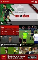 Screenshot of Televisa Deportes