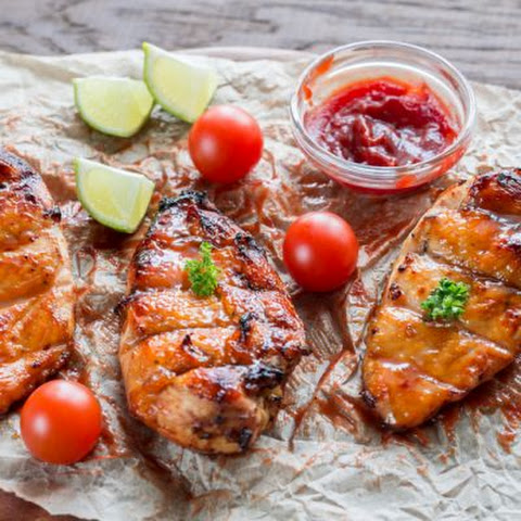 TGI Friday's-Inspired Miso-Glazed Chicken