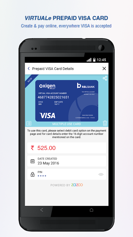 Oxigen Wallet- Mobile Payments Screenshot 5