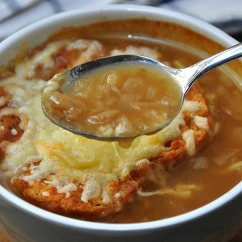 French Onion Soup With Cheesy Toast 0