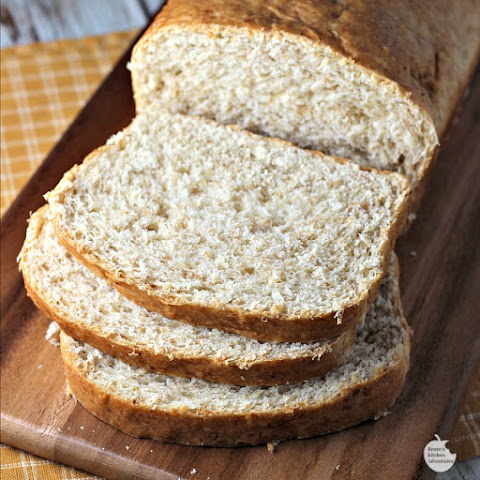 Honey Oat Whole Wheat Bread