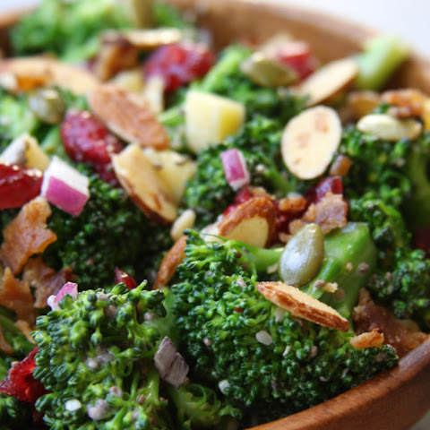 Super Healthy Broccoli Salad