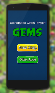 Free Gems for Clash Royale Prank APK for Windows 8