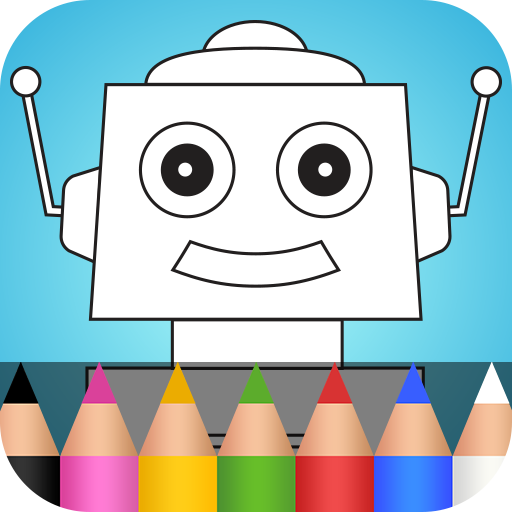 Robots Coloring Pages (app)