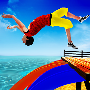 Download Sky Water Slide Flip Adventure Diving Stunts for Android