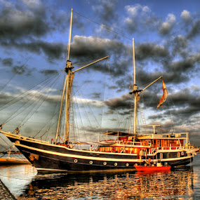 PHINISI by Hernan Halim - Transportation Boats ( paotere, boat, phinisi )