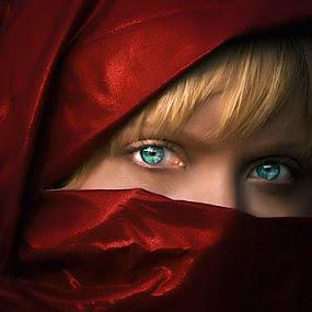 In those eyes by Cheri McEachin - People Portraits of Women
