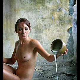 cup off milk by Hugo Janssen - Uncategorized All Uncategorized ( nude, milk, awinai )