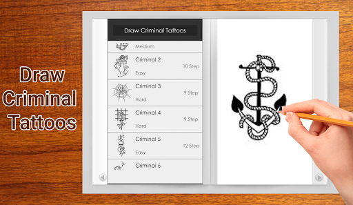 How To Draw Criminal Tattoo Apps Apk Free For Android Pc