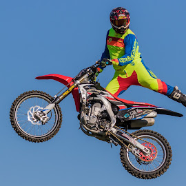 bike jump by Carl Albro - Sports & Fitness Motorsports ( jumping, motorcycle )
