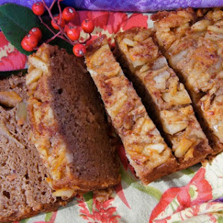 Spiced Almond-Apple-Persimmon Bread