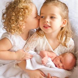 siblings by Wendy Berning - Babies & Children Babies