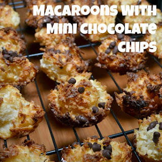 Coconut Macaroons With Mini Chocolate Chips
