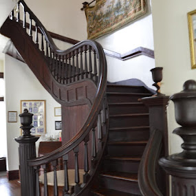 Stairs by Brenda Shoemake - Buildings & Architecture Other Interior