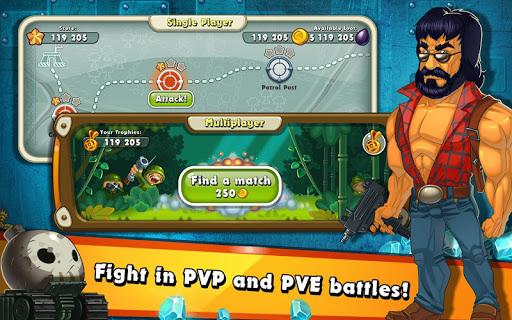 Jungle Heat: War of Clans screenshot 15