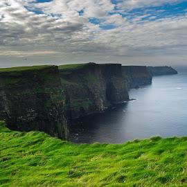 Cliffs of Moher by Sorin Rizu - Landscapes Travel ( cliffsofmoher, sky, ireland, cliffs, dublin, galway, ocean, view, landscape )