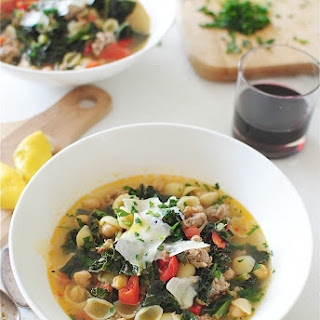 Kale and Sausage Minestrone
