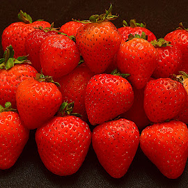 Sweet strawberry. by Andrew Piekut - Food & Drink Fruits & Vegetables