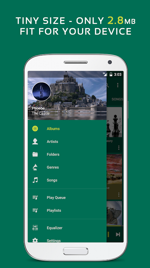 Pulsar Music Player Pro Screenshot 2