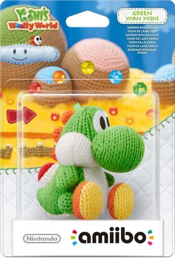 Green Yarn Yoshi packaged (thumbnail) - Yoshi's Woolly World series
