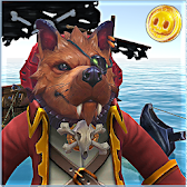 Dogs Pirate Captain Caribbean APK icon