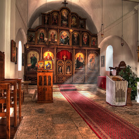 Sv.Pavle by Branislav Rupar - Buildings & Architecture Places of Worship ( interior, altar, church, hdr, candles, icons, orthodox christianity, olympus )
