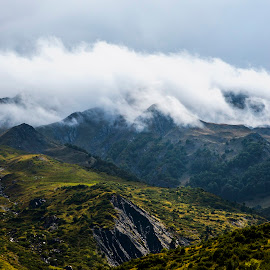 Angry Clouds by NitZ Photography - Landscapes Mountains & Hills ( clouds, hills, winter, mountain, cloudscape, nikon, landscape )
