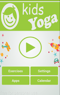 Kids Fitness - Daily Yoga Fitness app screenshot for Android