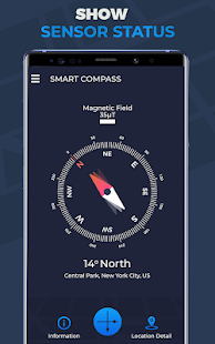 Compass for Android - Smart Compass Screenshot