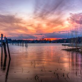 Naantali sunrise by Bojan Bilas - Landscapes Sunsets & Sunrises