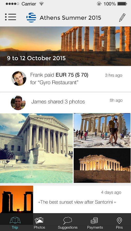 GrupTrip Screenshot 1