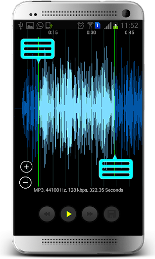 Mp3 Player & Cutter screenshot 3