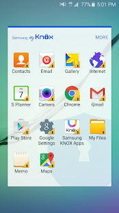 Samsung My Knox for Lollipop - Android 5.0