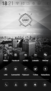 Dark Button Atom Iconpack- screenshot thumbnail