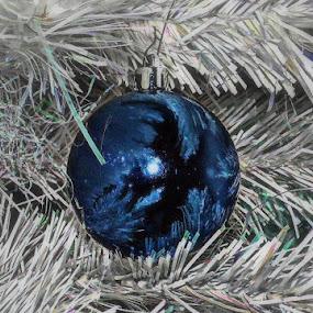 Reflecting... by Michelle Dimascio - Public Holidays Christmas ( festive, reflection, christmas decoration, christmas, christmas tree )