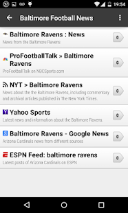 Baltimore Football News - screenshot