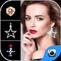 App FREE-Z CAMERA EARRINGS STICKER apk for kindle fire