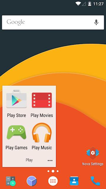 Nova Launcher Prime screenshots