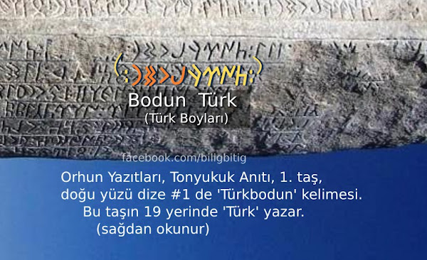 Göktürkçe Türk - Türük
