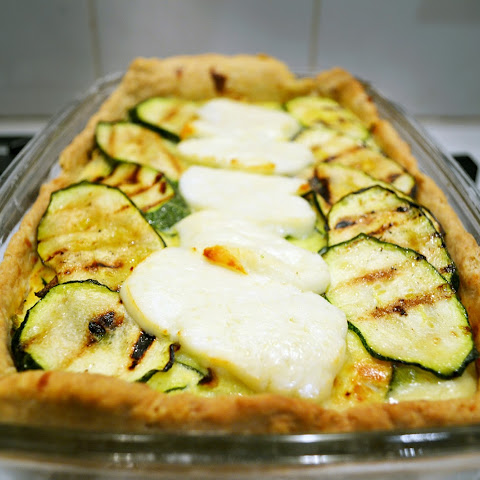 Courgette and Halloumi Pie
